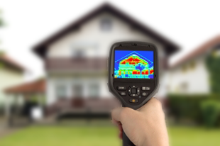 We conduct energy audits to see if you're home's efficiency can be improved!