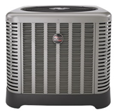 RUUD Heat Pumps will keep your home warm all winter and cool all summer! Get yours today!