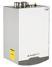 Heat your home all winter with a high efficiency condensing boiler!